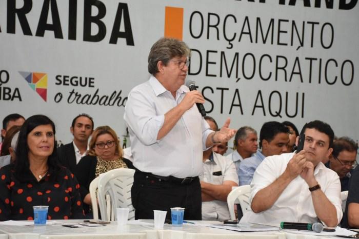 João Azevêdo participa da audiência do Orçamento Democrático em Princesa Isabel