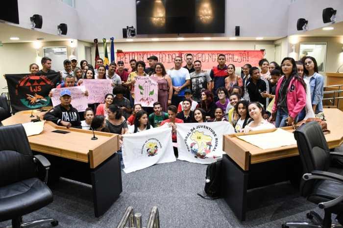 ALPB do povo: Estudantes do Cariri visitam sede e discutem pleitos da Educação no Campo