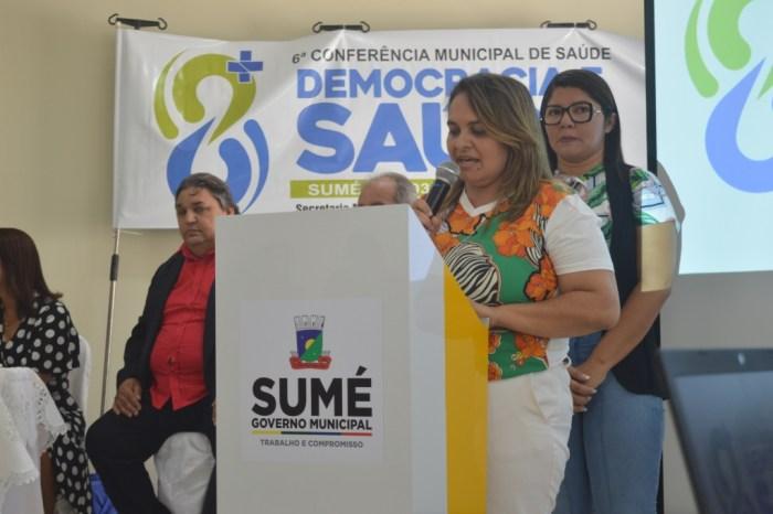 6ª Conferência Municipal da Saúde de Sumé recebe grande público com apresentações e palestras