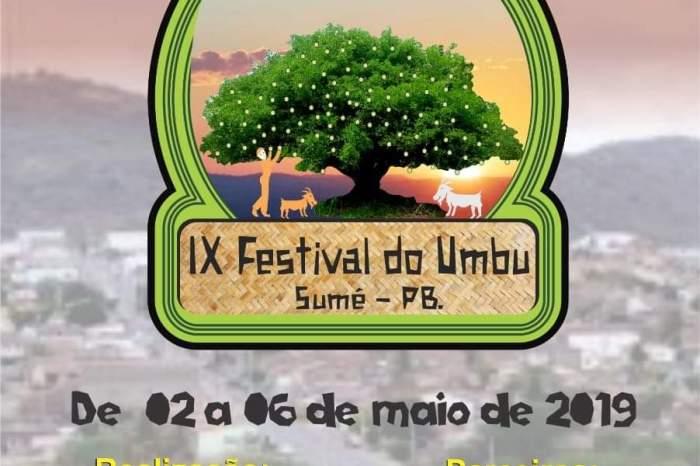 Sumé sedia IX Festival do Umbu a partir desta quinta-feira