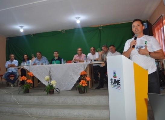 EM SUMÉ: Prefeito Éden Duarte lança Orçamento Democrático Municipal