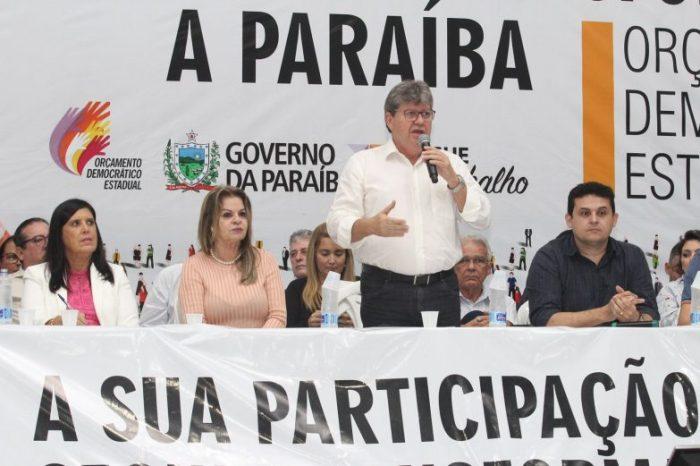 João participa do ODE em Solânea e entrega benefícios para a região