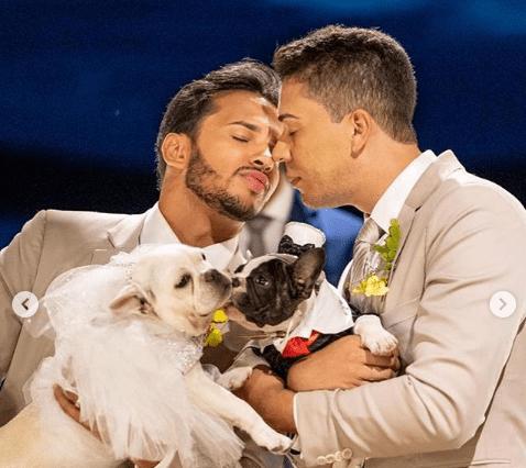 Carlinhos Maia explica por que não teve beijo no casamento