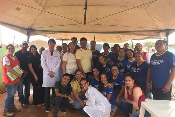 Prefeitura de Camalaú leva ações de saúde e cidadania para mais uma comunidade