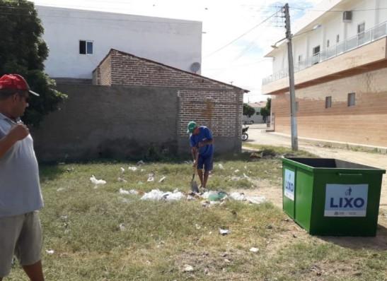 Prefeitura de São Sebastião do Umbuzeiro adquire novos coletores de lixo