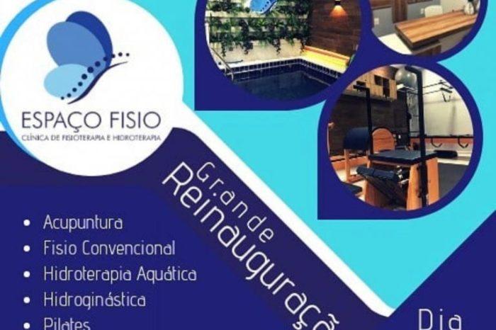 Clínica Espaço Fisio será reinaugurada em Monteiro