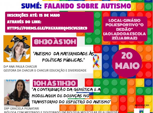 Secretaria Municipal de Educação de Sumé promoverá 1° workshop sobre Autismo