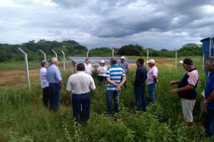 Representantes do Banco Mundial conhecem projetos na zona rural de Sumé