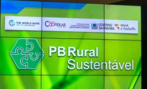 Representante do Banco Mundial elogia PB Rural Sustentável