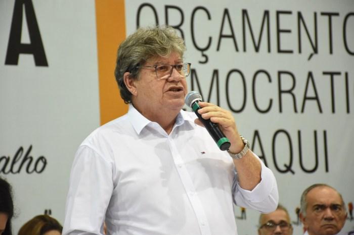 MOÍDOS DA REDAÇÃO: João Azevêdo é aprovado por 57,5% dos paraibanos aponta pesquisa