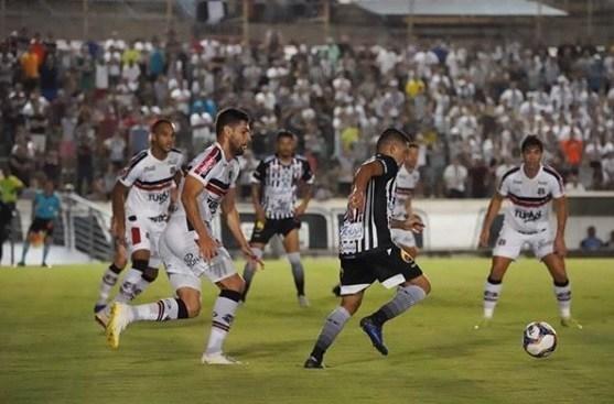 Botafogo-PB empata com Santa Cruz e segue sem vencer na Série C