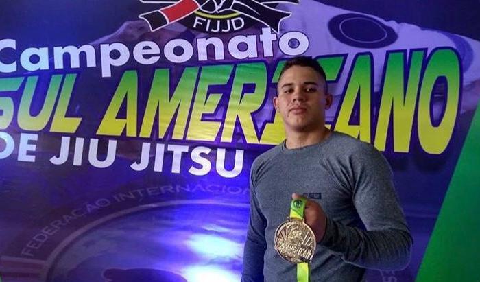 Caririzeiro leva título de Campeão Sul-americano de Jiu-jitsu