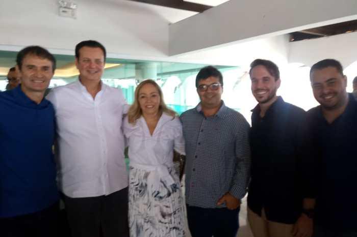 Vice-prefeito de Ouro Velho prestigia filiação de Romero Rodrigues ao PSD em Campina