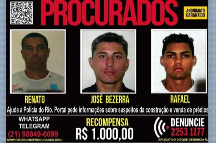Polícia do RJ faz operação no Rio, na Paraíba e em Pernambuco