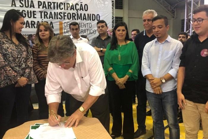 Empreender: João Azevedo assina contratos de R$ 700 mil no ODE