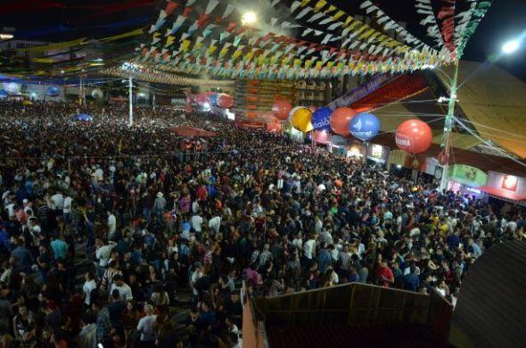 Parque do Povo registra maior público do São João