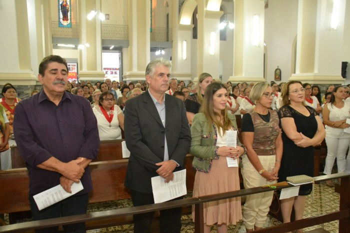 Missa em Ação de Graças conta com participação de autoridades no aniversário de Monteiro