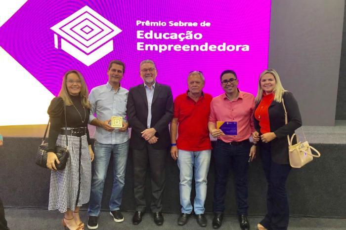 Escola Agrotécnica de Sumé recebe Prêmio de Educação Empreendedora do Sebrae