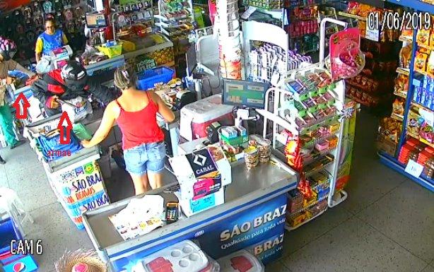 Supermercado é alvo de bandidos em pequena cidade do Cariri paraibano