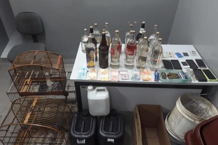 Polícia apreende mais de 18 litros de loló em Campina Grande