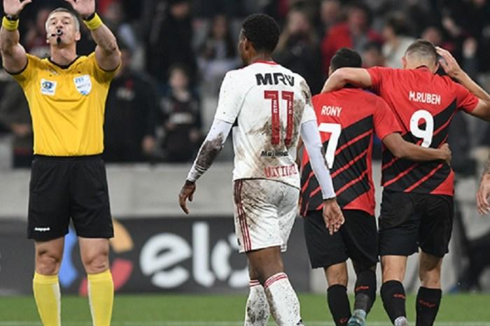 Fla arranca empate com Athletico-PR em jogo marcado por polêmicas