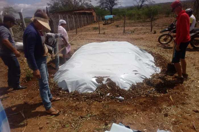 Secretaria de agricultura realiza silagem na Vila Lafayete à pedido do vereador Cajó