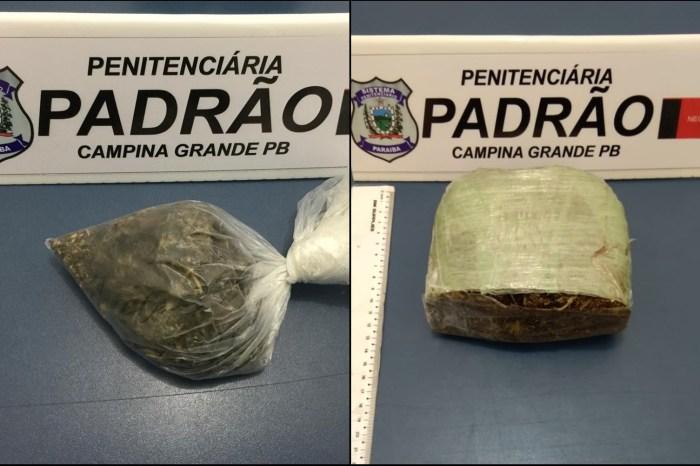 Agentes encontram drogas deixadas por drone em presídio da PB