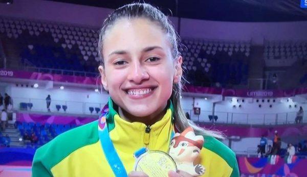 Filha de Pratense faz história é medalha de ouro nos Jogos Pan-Americanos no Peru