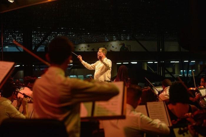 Orquestra Sinfônica da Paraíba abre show do Paralamas na Capital