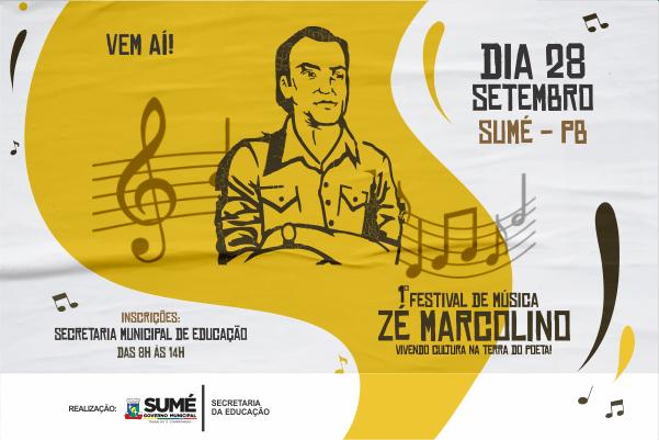 Comissão divulga lista de inscrições deferidas para o I Festival de Música Zé Marcolino em Sumé