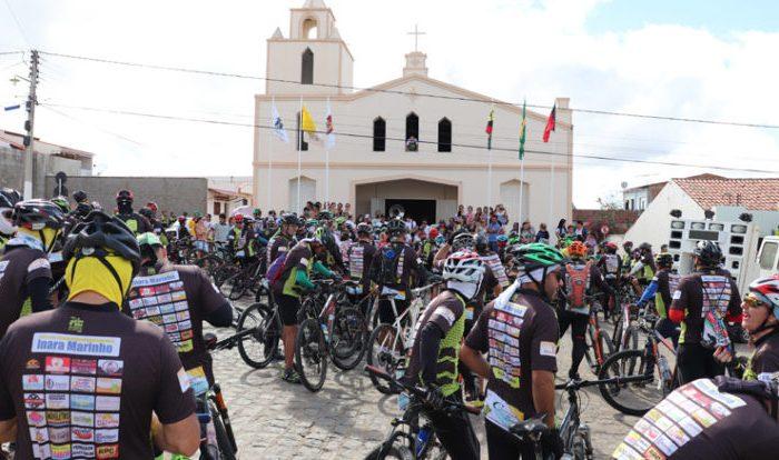 4º Catobike de São Domingos do Cariri reúne mais de 300 ciclistas de vários lugares