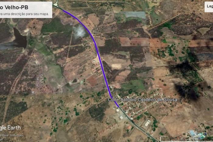 Prefeita de Ouro Velho autoriza construção de pista para caminhada
