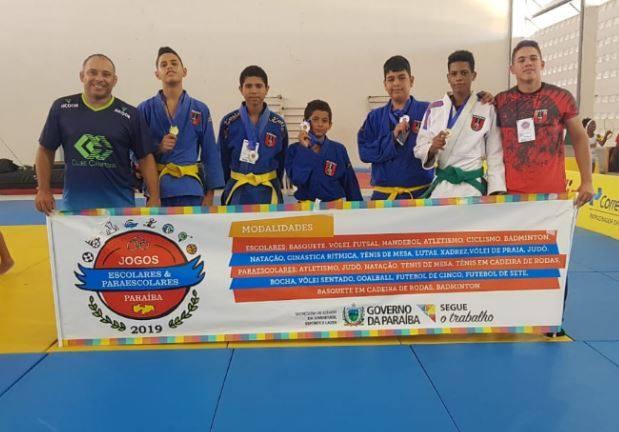 Estudante da rede municipal de Sumé é campeão de judô nos Jogos Escolares da Paraíba