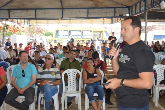Orçamento Democrático Municipal de Sumé realiza plenária no Assentamento Mandacaru