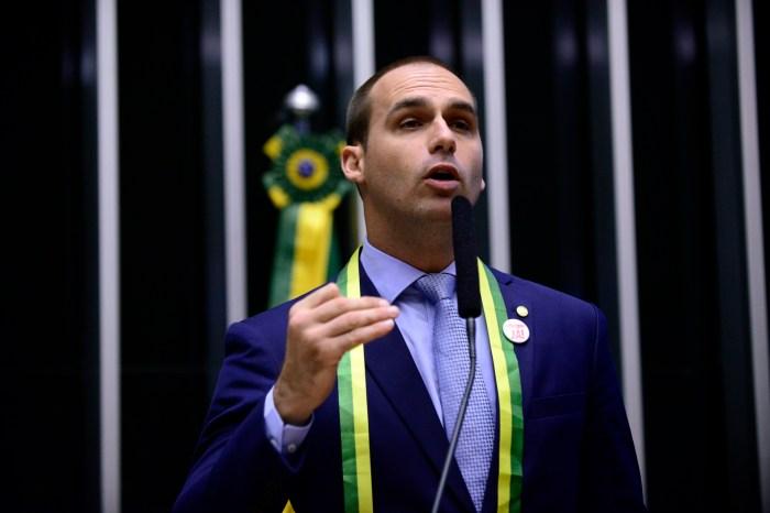 Itamaraty confirma aval dos EUA para indicação de Eduardo Bolsonaro