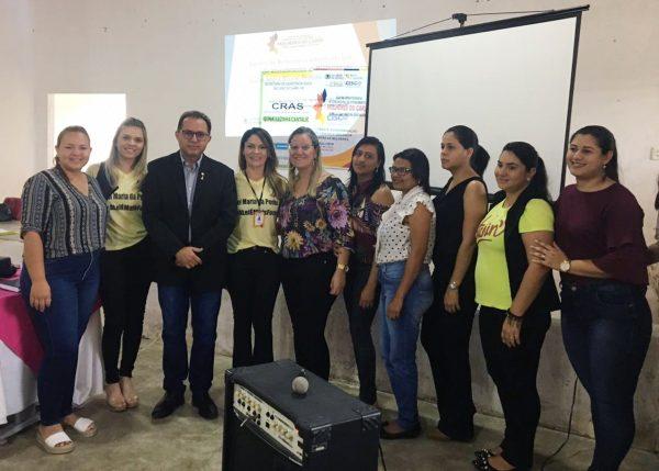 Magistrado debate violência doméstica e Lei Maria da Penha em São João do Cariri