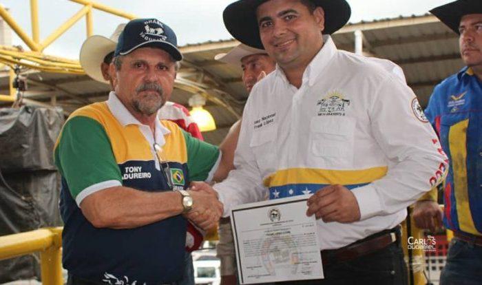 Presidente da Confederação Panamericana de Vaquejada será homenageado em Parari