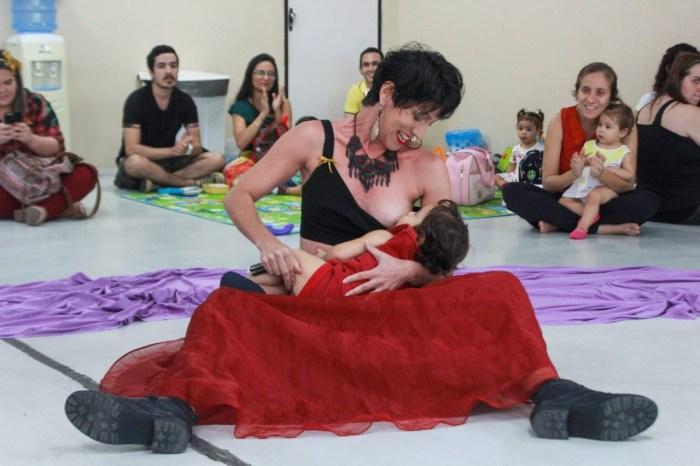 Mamaço discute empoderamento feminino e amamentação