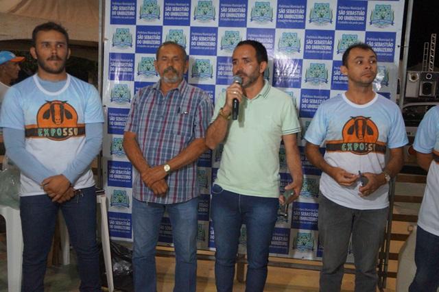 II EXPOSSU é aberta oficialmente em São Sebastião do Umbuzeiro; evento vai até o domingo