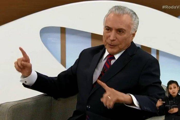 'Eu jamais apoiei o golpe', diz Temer sobre impeachment de Dilma