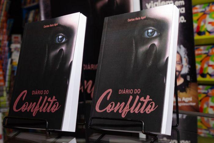 Carlos Reis lança Diário do Conflito, um romance sobre superação