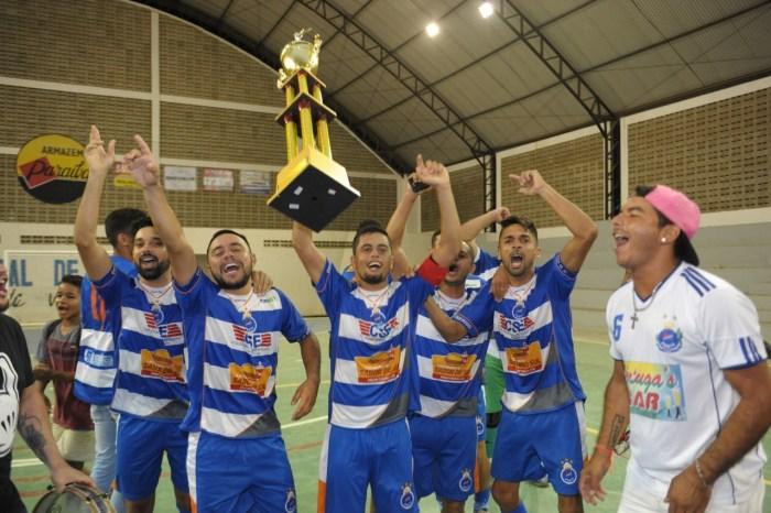 Secretaria de Esportes entrega premiação da Copa de Futsal Dr. Chico em Monteiro