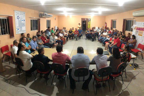 Prefeitura de Sumé, Banco do Brasil e empresários se reúnem para tratar sobre a agência