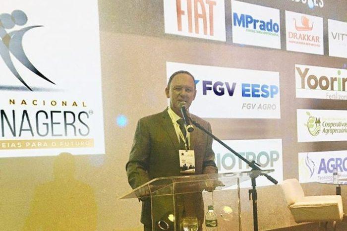 Em Brasília: Prefeito de Gurjão apresenta município em evento para gestores de todo o país