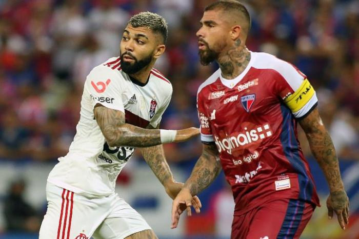 De virada, Fla bate Fortaleza por 2 a 1 na casa do adversário