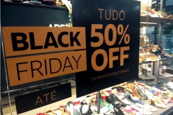 Black Friday deve igualar busca por lojas físicas e compras on-line