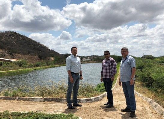 Prefeito Éden reforça parceria e Cagepa viabiliza obras no município de Sumé
