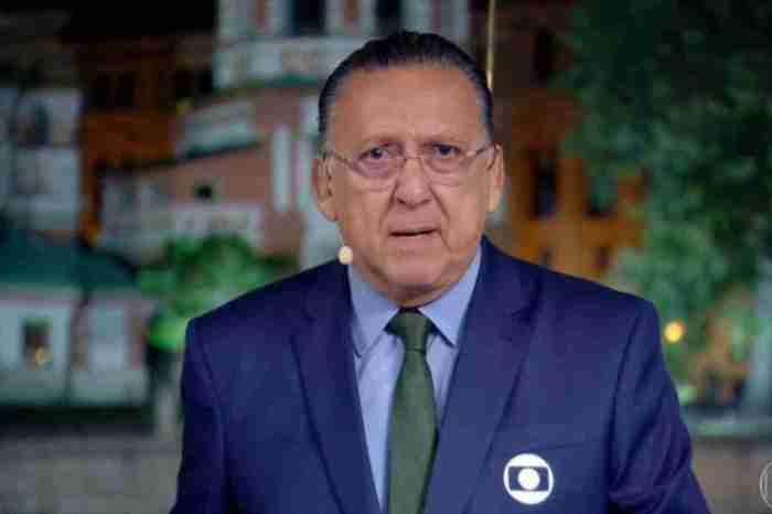 Galvão Bueno está consciente e bem disposto após sofrer infarto
