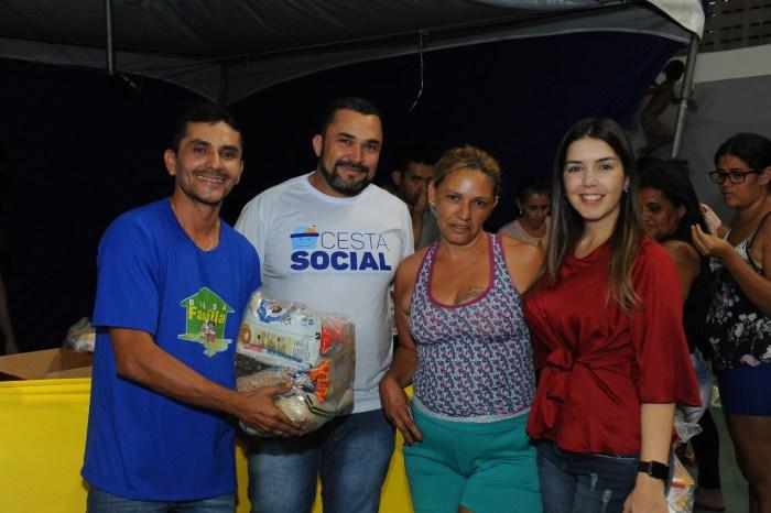 Prefeitura de Monteiro realiza mais uma entrega da Cesta Social