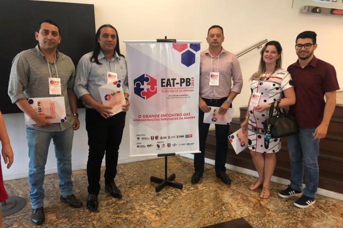 Éden Duarte e auxiliares participam do 2° Encontro de Administradores Tributários da PB